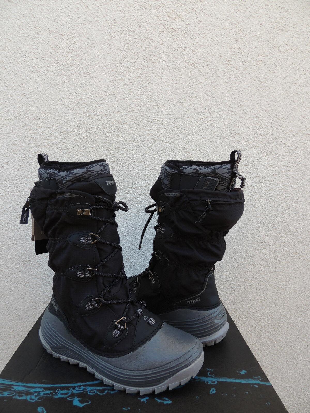 TEVA JORDANELLE 3 BLACK WATER PROOF THINSULATE WINTER BOOTS, US 6/ ~NIB