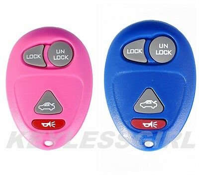 New Blue Replacement Keyless Entry Remote Control Key Fob L2C0007T 10335588 4b