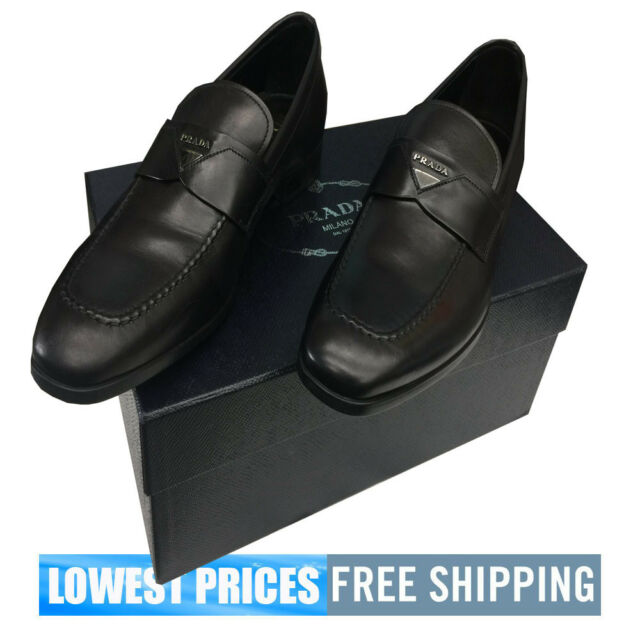 7e1aa4583c4 Brand New With Tags Box Men s Prada Penny Loafers Nero Color SIZE 8 UK
