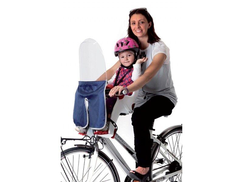 Parabrisas Belelli para bicicleta - Ideal para asiento Niño   niño