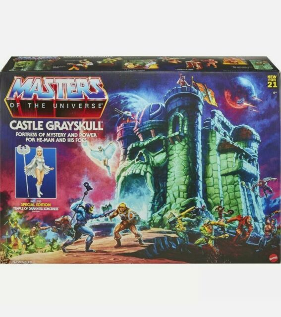 MASTERS OF THE UNIVERSE MOTU Origins Castle Grayskull Playset 2021 NEW IN HAND