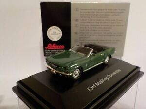 Model-Car-Ford-Mustang-Convertible-1-87-New-Schuco
