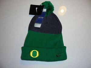 the best attitude 98936 68a77 Image is loading ADULT-GREEN-GOLD-GRAY-NIKE-ONE-SIZE-OREGON-