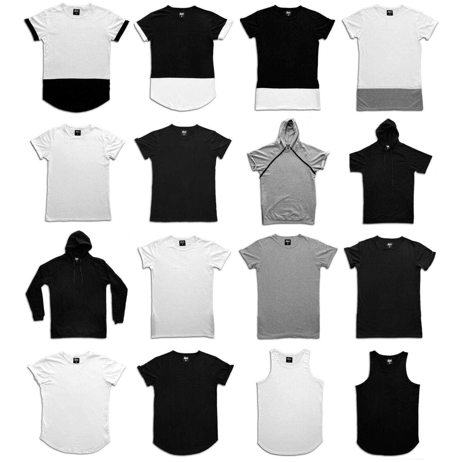 Phoenix Basics T-Shirt Hoodie Tank Top Longshirt Men's Side Zip Oversize Men