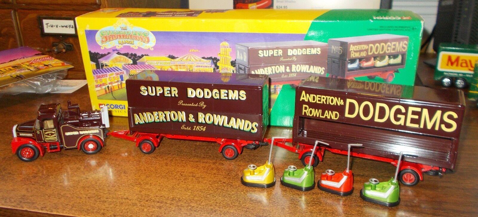 Obtén lo ultimo súper Dodgems Anderton & & & Rowlands Corgi Camión  entrega rápida