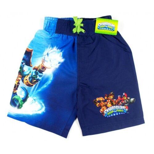 Boys Skylanders Swim Trunks Kid Swash Buckler Swimwear Character Shorts Age 5-14