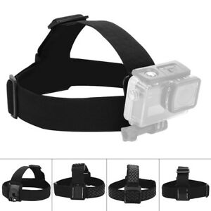 Outdoor Camera Head Strap Mount Belt Elastic Adjustable Headband For GoPro Hero 8027467850506