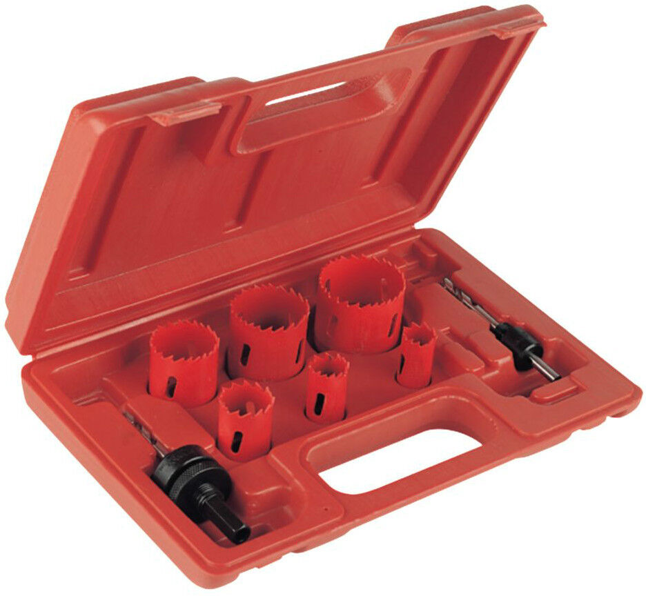 Plumbers Holesaw Kit 8 Pieces  PURCHASE TODAY