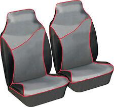 Black Carseatcover-UK BLKWPFP1000 Car Seat Covers Heavy Duty Waterproof