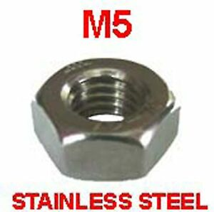 M5-Stainless-Steel-Full-Nuts-5mm-Stainless-Steel-Hex-Full-Nuts-x-25
