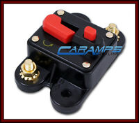 12v 140 Amp Car Stereo Inline Power Circuit Breaker Replaces Fuse Holder 140a on sale