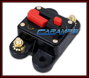 NEW-12V-70-AMP-CAR-STEREO-INLINE-POWER-CIRCUIT-BREAKER-REPLACES-FUSE-HOLDER-70A