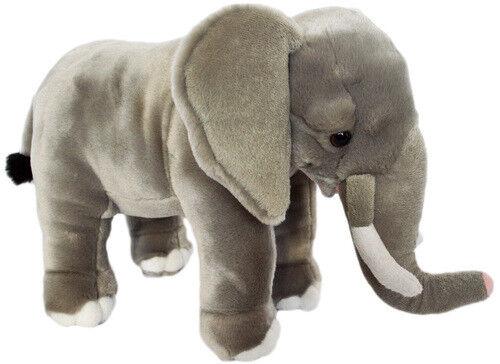 Kingdom Kuddles 16 Inch Mahmud the Elegant Elephant Stuffed Plush Animal
