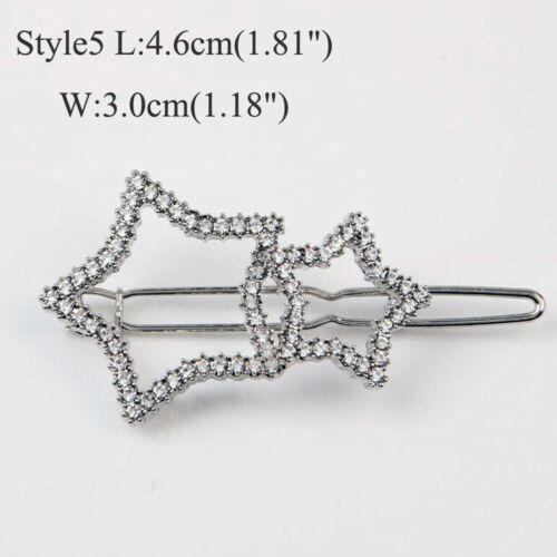 Femme Fille Star clips cheveux épingles à cheveux Barrette Bâton Bobby Pin Cheveux Accessoires