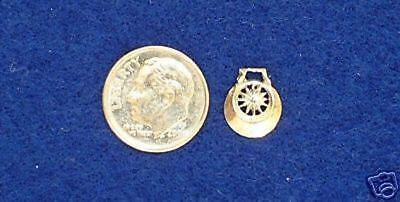 SULSER SADDLERY 1:9 Traditional Model Horse Scale FLOWER BRIDLE CONCHOS Brass