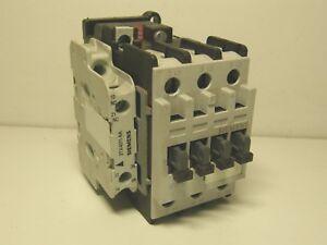 siemens 3tf3211 0a contactor motor starter with 1no 1nc 3tx4011 8a rh ebay com