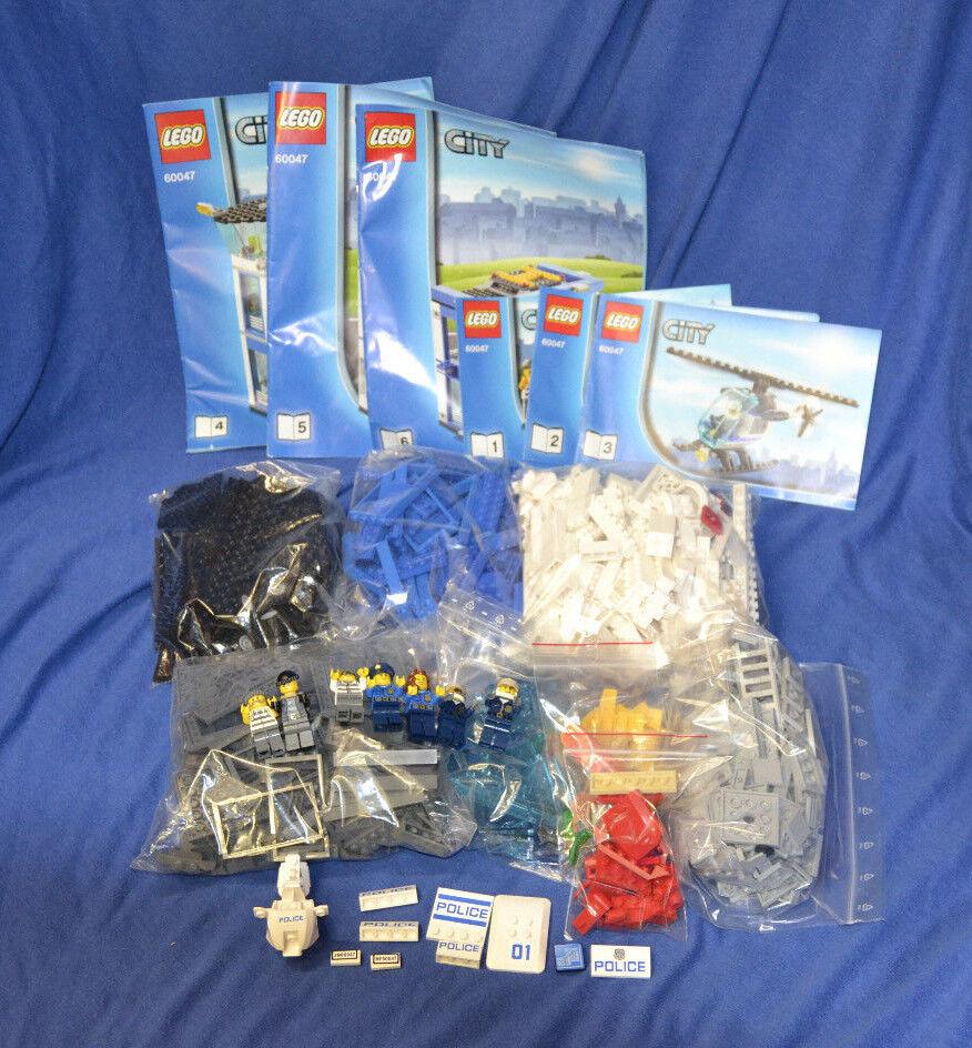 LEGO Set 60047 City Ausbruch Polizeistation mit BA Police Station w. instruction