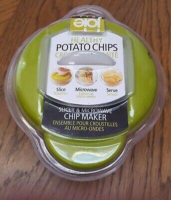 Slicer Cooker Joie Healthy Microwave Potato Chip Maker