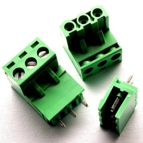 10PCS KF2EDGK KF-3P Right-Angle Plug-in Terminal Connector 5.08mm Pitch