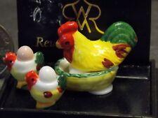 Chicken Set Dollhouse 1:12 Art 1.492//5 Reutter Porzellan Hühnerset Egg Eggs