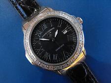 Ladies Swiss Legend Diamond South Beach Watch Quartz Date Stainless 10ATM