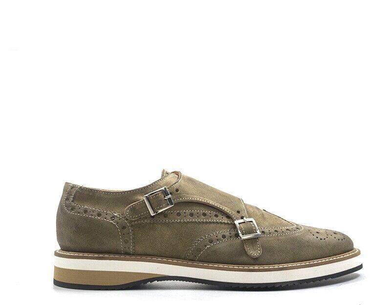 Zapatos BALDININI Hombre BEIGE Brogue,Gamuza UE7501P00VELO4545