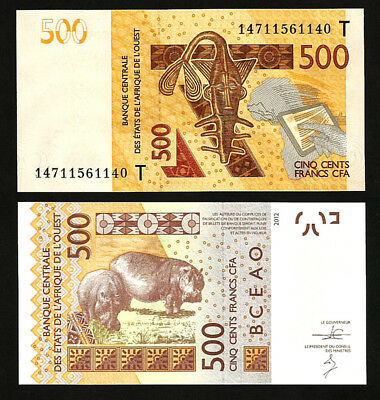 WEST AFRICAN STATES T /> TOGO 1000 FRANCS 2003 2014 UNC P-815Ti