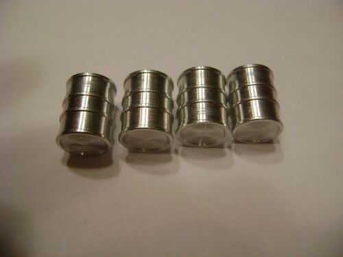 pkg. of four Lionel 455-23 Oil Drums