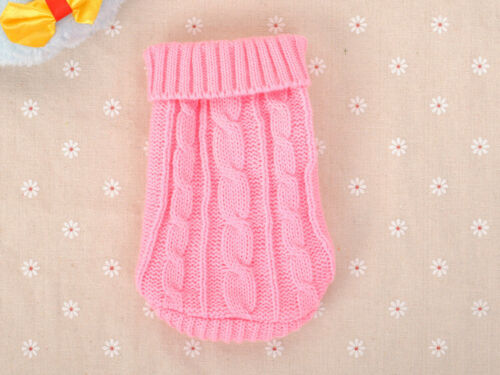 Small Chihuahua Dog Sweater Clothes Pet Puppy Cat Hoodie for yorkie Dog XXXS//XXS