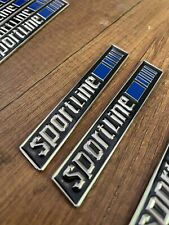 Mercedes W201 W124 C124 A124 190e Sportline Cosworth Amg Emblem Badges 2 Piece