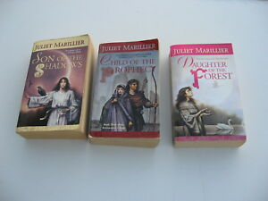 Juliet-Marillier-Sevenwaters-trilogy-Son-Daughter-Child-3-book-lot-mmpb-039-s