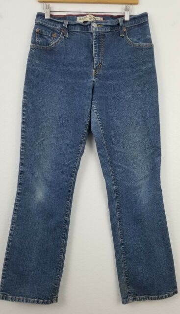 a3e851d54f5 Levi s 550 Classic Jeans Stretch Relaxed Bootcut Size 10 Long for ...