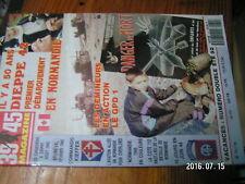 µ? Revue 39/45 Heimdal n°73 Demineur GPD1 Dieppe 1942 Bruneval Kieffer Cote 112