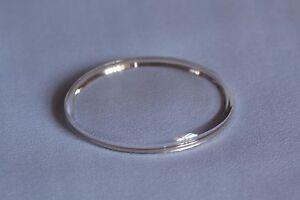 Plastic armed glass chromed ring Vetro armato cromato n° 322 diametro 32.2mm NOS AgiOlgF7-08025013-201848599