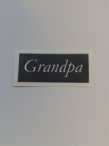 Fathers Day word stencils for etching on glass  craft gift glassware dad grandad