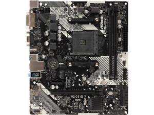 ASRock-A320M-HDV-R4-0-AM4-AMD-Promontory-A320-SATA-6Gb-s-Micro-ATX-AMD-Motherboa