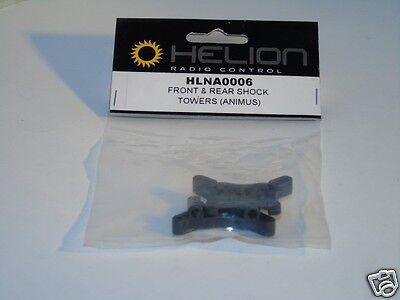 Hlna0006 Helion R / C Auto Pezzi Di Ricambio Anteriore E Posteriore Shock Towers Animus 4 X 4 Nuovo-mostra Il Titolo Originale