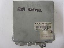 Genuine BMW E39 525TDS Bosch Engine Control Unit ECU 2247072 0281001373 #82