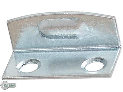 Schließblech Winkelblech Schließwinkel 23x10x10 mm Winkelschließblech 100 Stück