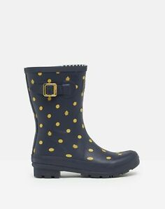 Joules-Womens-Molly-Mid-Height-Printed-Wellies-Navy-Ladybird