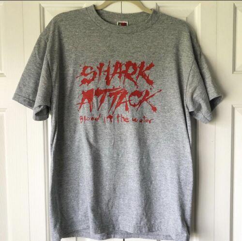 SHARK ATTACK band shirt hardcore punk