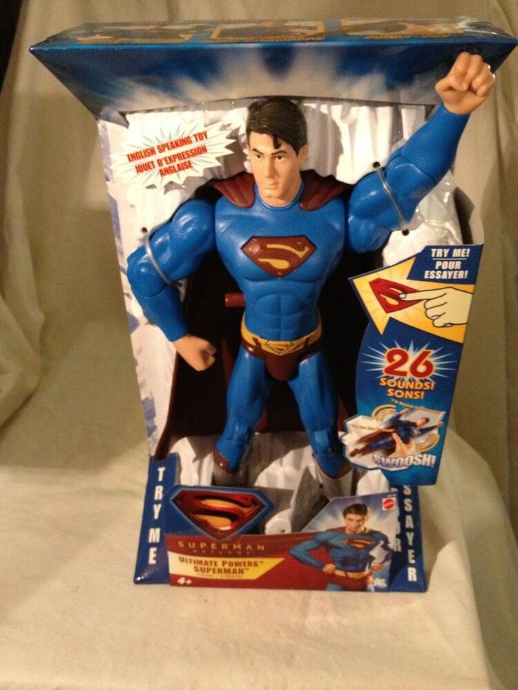 2006-RARE SUPERMAN RETURNS - 12  ULTIMATE POWERS FIGURE -26 SOUNDs-VERY RARE