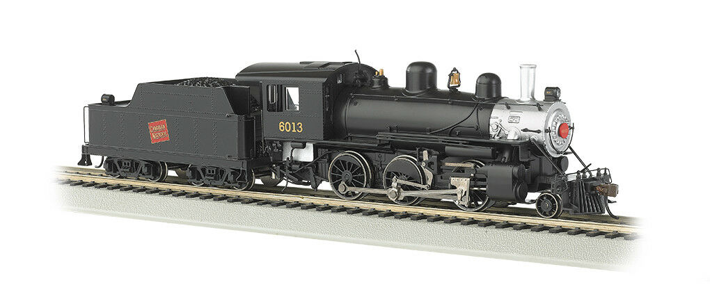 Bachmann HO Canadian National 6013 Alco Alco Alco Mogul 2-6-0 With Lights DCC Ready 51709 014907