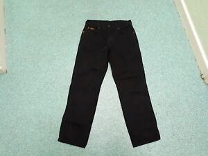Wrangler-Texas-Jeans-Waist-30-034-Leg-30-034-Black-Faded-Mens-Jeans