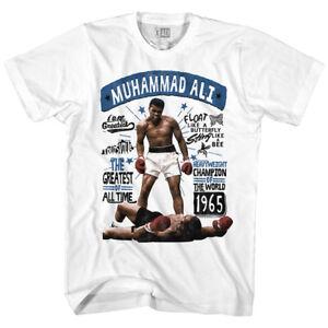 Hombre Camiseta Boxeo Blanco 5xl pesado Peso Champ Ali Nuevo Algodón Sm Muhammad 5OStxwEw