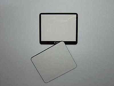 Doppel Tape Neu Canon EOS 5D Mark II 5D2 5DII Außen LCD Bildschirm Glas