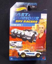#214 UK Card Astana Hotto Hot Wheels Metallic White F/&F Spy Racers