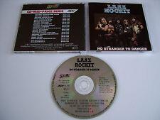 LAAZ ROCKIT No Stranger to Danger CD 1985 MEGA RARE COLLECTIBLE SPV MID-PRICE!!!