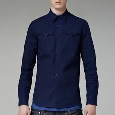 CHEMISE REGULAR FIT G-STAR TACOMA RE RAW ESSENTIALS SHIRT  TAILLE S