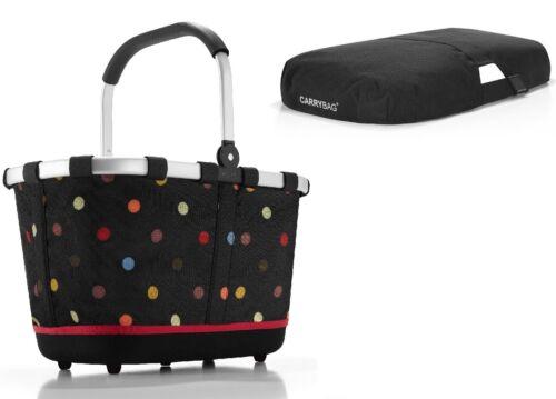 Cover EXKLUSIVES ANGEBOT ! reisenthel SET carrybag 2 Einkaufskorb dots BL7009S